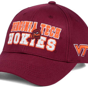 buy online f1d91 b253d NCAA Accessories - Virginia Tech Hokies Snapback Cap NWT